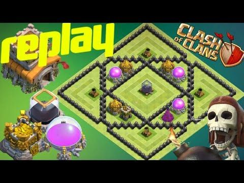Th8 Farming Base 2017 With Replay Loot