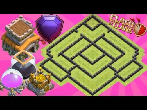 Best Th8 Farming Base 2017 Anti Dark