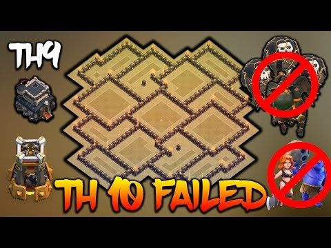 TH9 ANTI LAVALOON/GOBOLALOON/VALK - ANTI 3 STAR WAR BASE - TH10 FAILED REPLAY PROOF