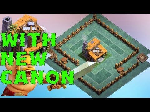 Builder Hall 3 Base Anti 1 Star With 3rd Canon