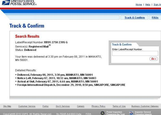 Usps Tracking - USPS Tracking provides proof of delivery to sorting