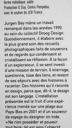 Question sur l'art moderne
