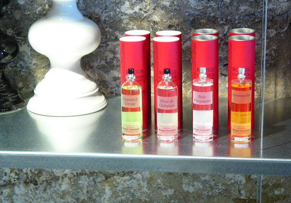 Les essences Rouge Garance 100% BIO