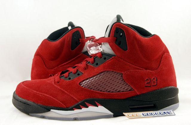 Nike Air Jordan V Raging Bull Suede