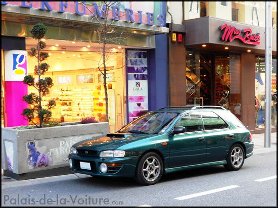 AE67 • Subaru Impreza 1 GT Wagon