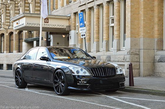 AG50 • Maybach 57 Knight Luxury '13