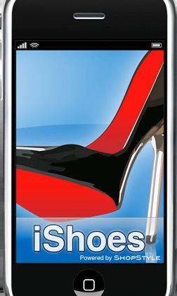 iPhone ... Application Ishoes :)