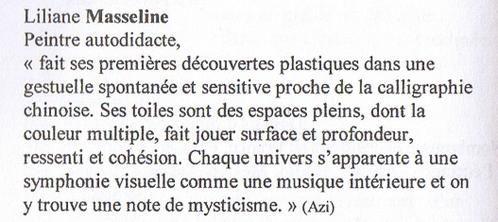 L'expressionnisme abstrait : les peintures de Liliane Masseline