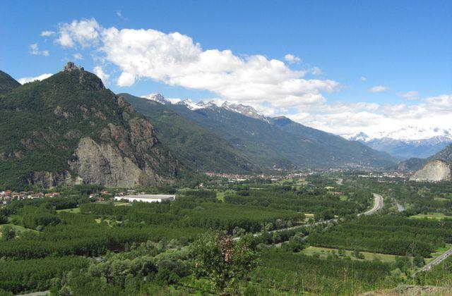 Trekking dans la vallée de Susa