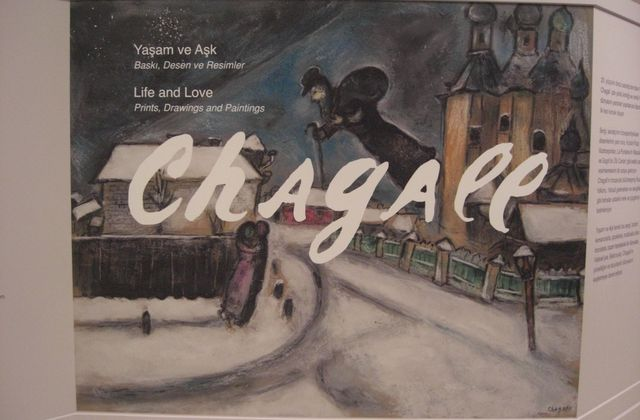 Istanbul et l'exposition Marc Chagall