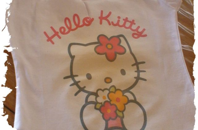 Hello kitty pour Lisa