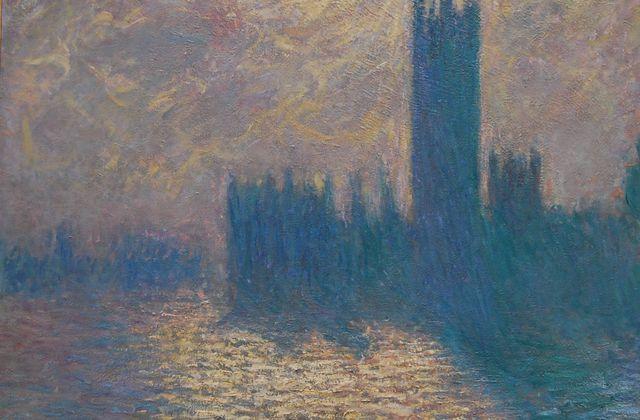 Monet - Londres le parlement