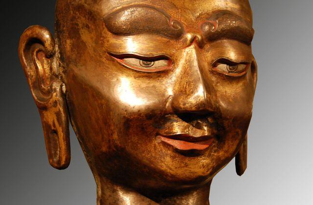 Tibet - moine buste