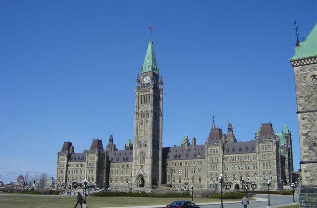 Canada - le parlement à Ottawa