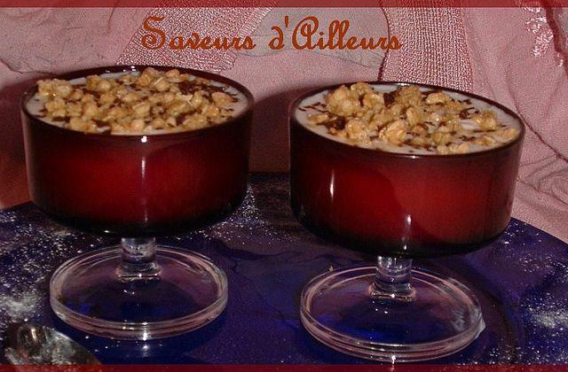 * Coupe dessert au Fromage Blanc & au Muesli Mielé *