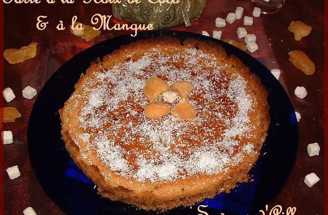 Tarte à La Noix de Coco & à la Mangue Réhydratée