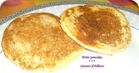 Hummmm : Les Pancakes au ptit déj : un vrai délice !!!!