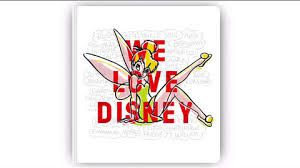 Ca y est, je l'ai …. WE LOVE DISNEY !