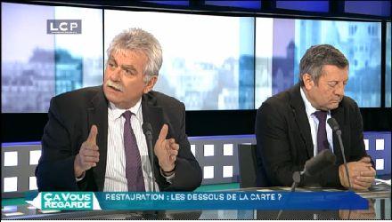 """Invité de LCP le 20 décembre 2012 : """"Restauration, les dessous de la carte..."""""""