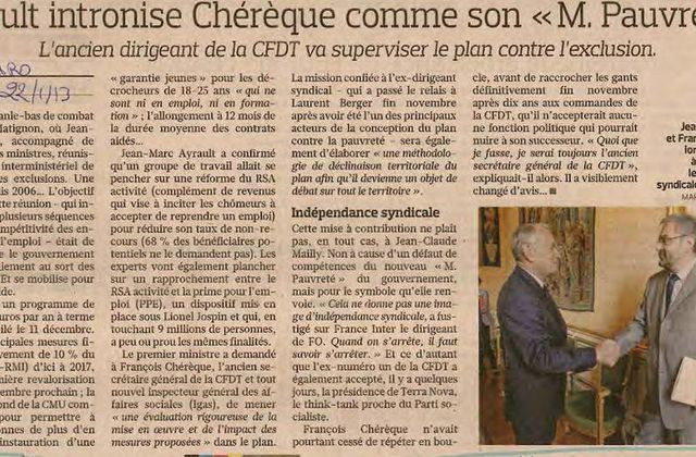 FIGARO 22/01/2013 NO COMMENT !!!