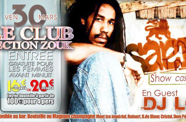 LE CLUB SECTION ZOUK : SAEL, KENEDY LE 30 et 31 MARS 2012