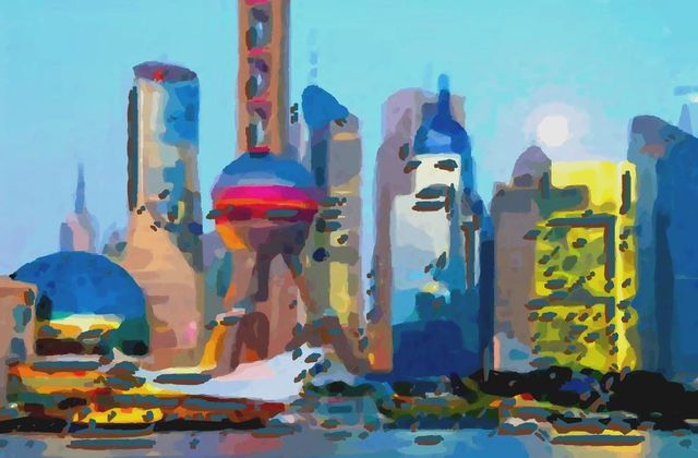 Pudong Painting