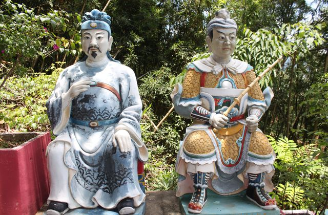 Balade a HK : 10 000 bouddha