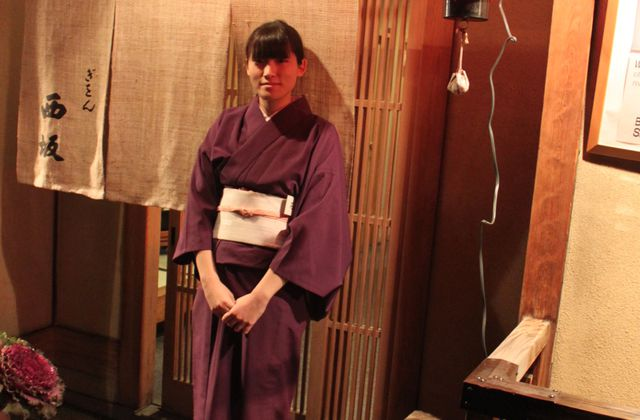 Jeune japonaises en costume traditionnel a Kyoto
