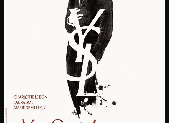 YSL le film en salle demain - Pierre Niney