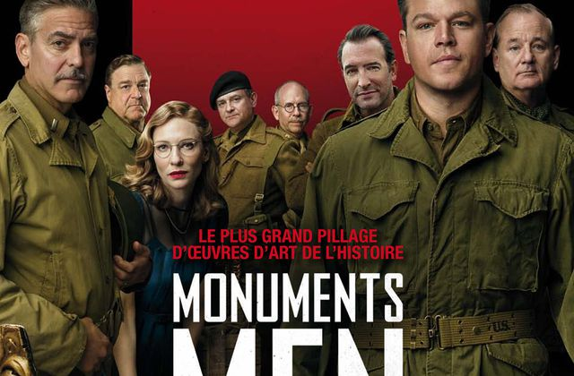 MONUMENTS MEN – CLOONEY – DAMON – MURRAY – BLANCHETT