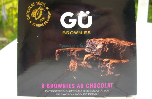 J'ai testé Gü Brownies