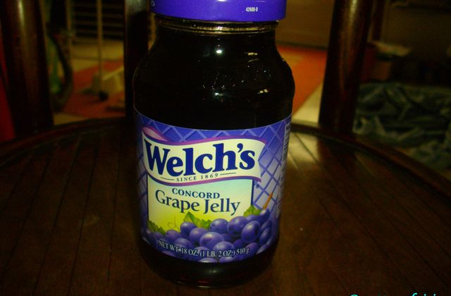 J'ai testé Welch's grape jelly
