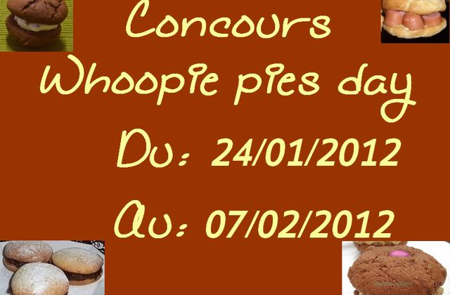 Concours whoopie pies day: 1 an...