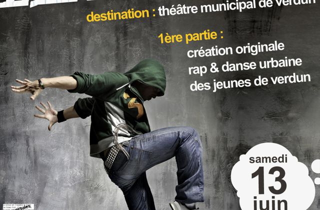 1er spectacle du collectif hip hop H²V