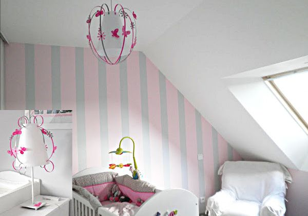 suspension papillon luminaire enfant lampe b b casse noisette. Black Bedroom Furniture Sets. Home Design Ideas