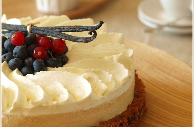 Cookie tart - Caramel & Vanille
