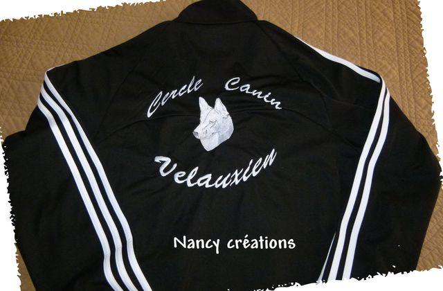 Veste et tee-shirt personnalisés !!!