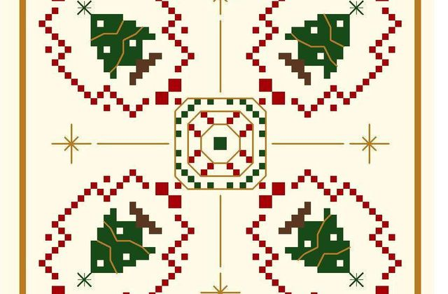 Broderie free for Christmas