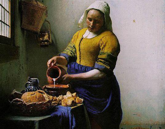 Vermeer - Le pot à lait