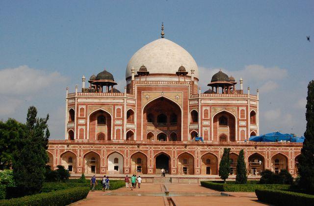 Delhi - Mausolée d'Humayun