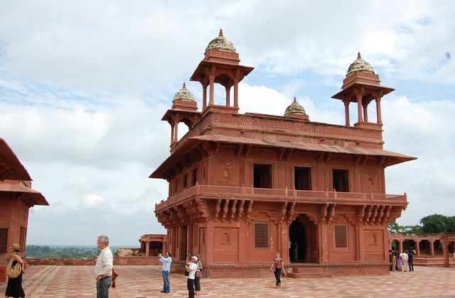Inde - Fatehpur Sikri le Diwwan i-Khass