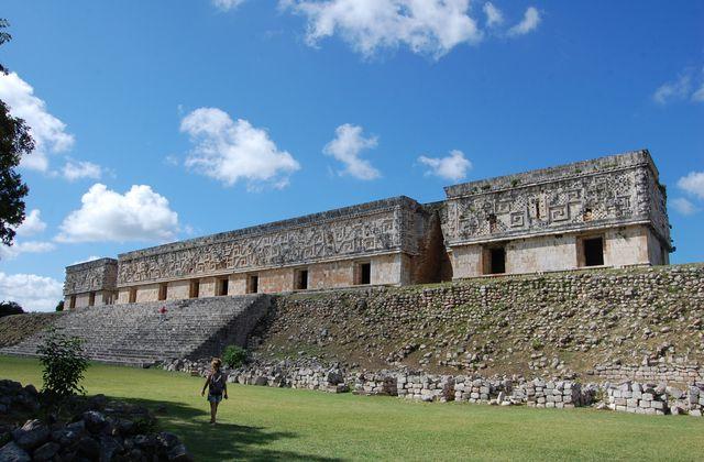 Mayas - Uxmal palais du Gouverneur
