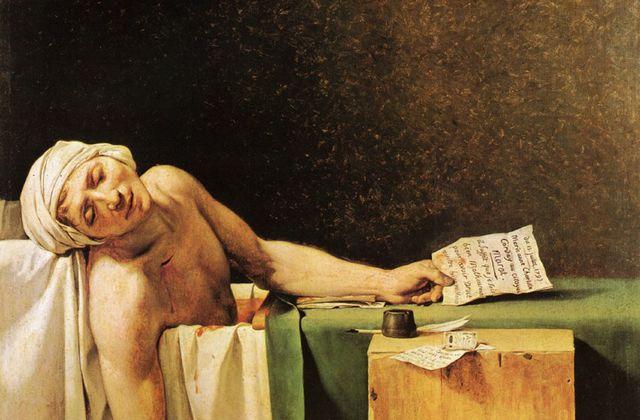 David - La Mort de Marat
