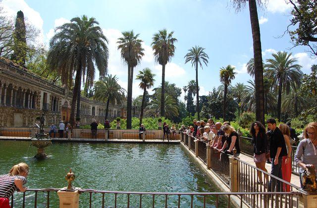 Seville - Jardins de l'Alcazar