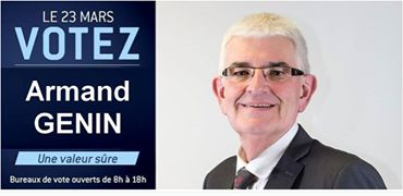 Votez Armand Génin, une valeur sûre !