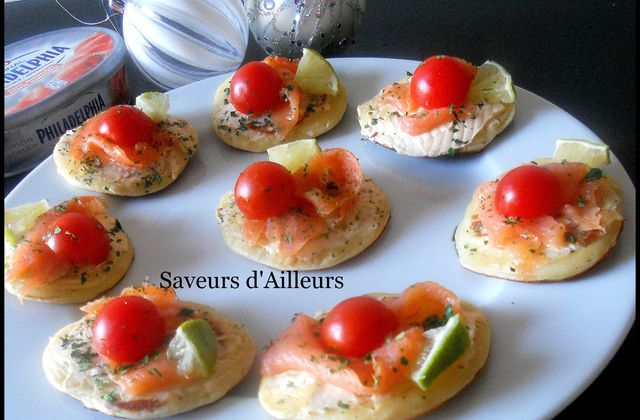 Recette de blinis light