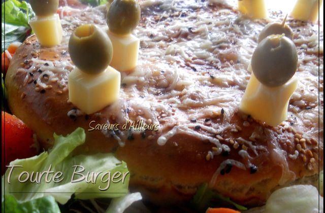 Tourte Burger au thon et à la pomme de terre