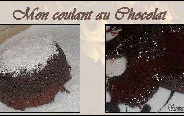 THE Coulant au chocolat