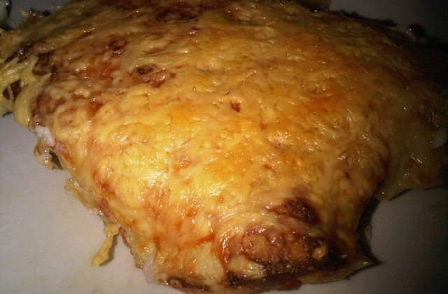 Cannellonis aux Jambon - Fromage
