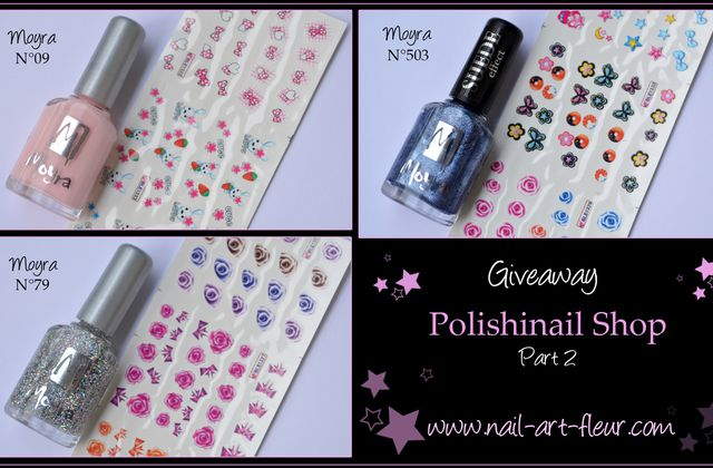Gagnantes vernis Moyra - Polishinail Shop